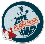 Planet Rock Children's Ministry Logo